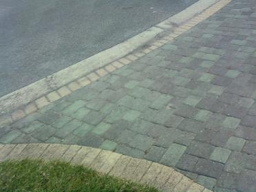 old looking pavers
